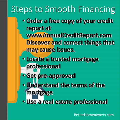 Steps to Smooth Financing