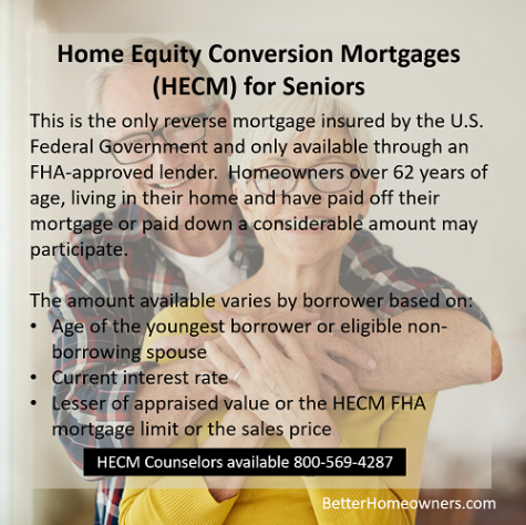 Home Equity Conversion Mortgages HECM