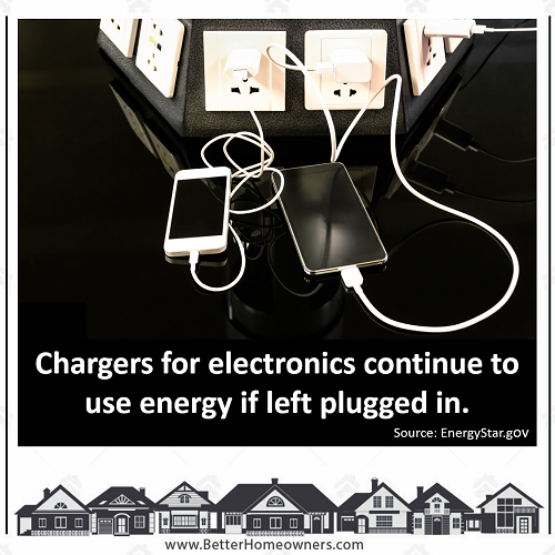 Chargers for Electronics use power